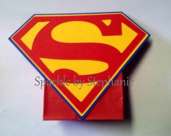 Superman Centerpieces - Balloon Holder - Set of 2+