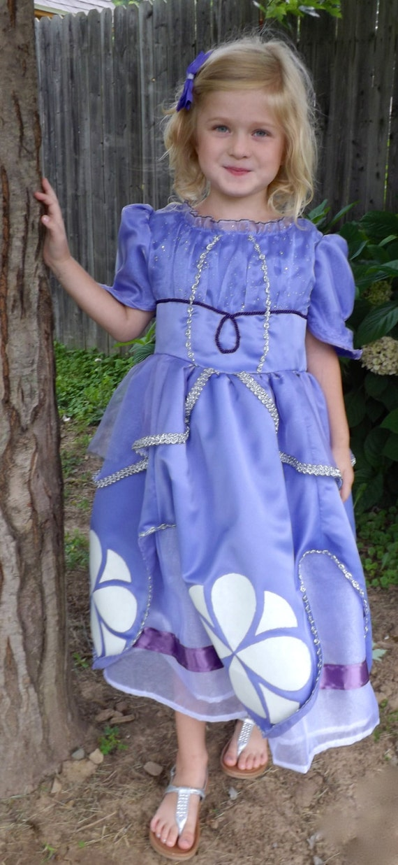 Sofia The First Blue Dress Sofia The First Debutant Dress