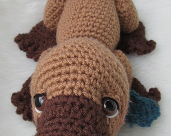Crochet Pattern Platypus by Teri Crews Wool and Whims Instant Download PDF format