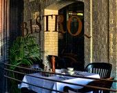 Bistro Table Scene