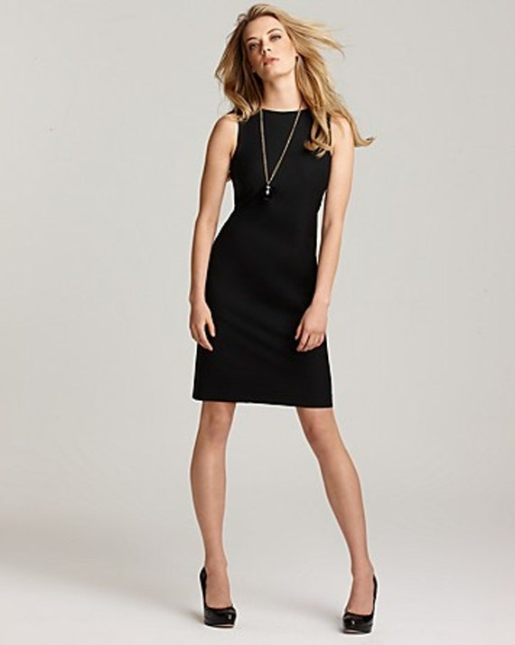 Long black dress no sleeves