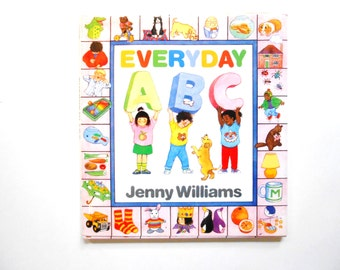 Everyday ABC, a Vintage Children's Alphabet Book