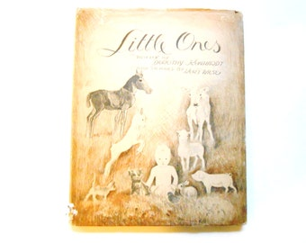 Little Ones, a Vintage Children's Book Illustrated by Kurt Wiese, 1935