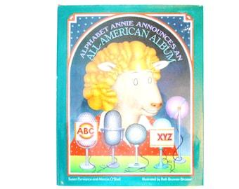 Alphabet Annie Announces an All-American Album, a Vintage ABC Book