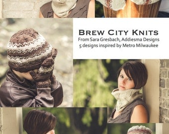 PDF file e-book collection-5 KNITTING PATTERNS for accessories