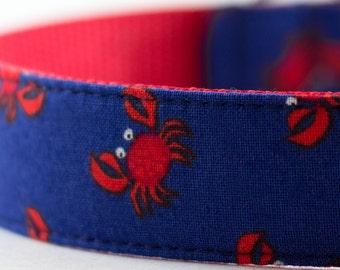 Red Crab Dog Collar
