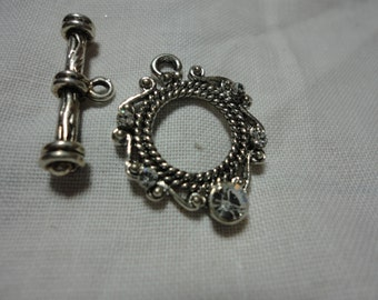 S120 Swarovski Crystal Toggle Clasp Destash Sale