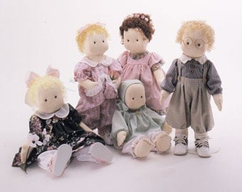 Sweet William Easy To Sew Doll Pattern Carolee Creations SewSweet Dolls