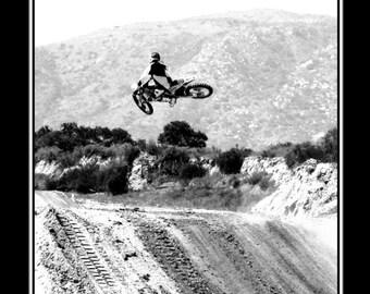 Motocross Poster - Dirt Bike Poster