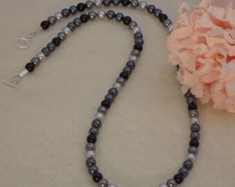Swarovski Crystal Pearls In Black, Gray and Tahitian  FREE SHIPPING