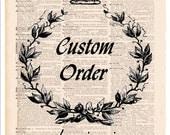 Custom order for cne141