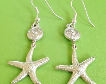 Bridal Seashore Earrings