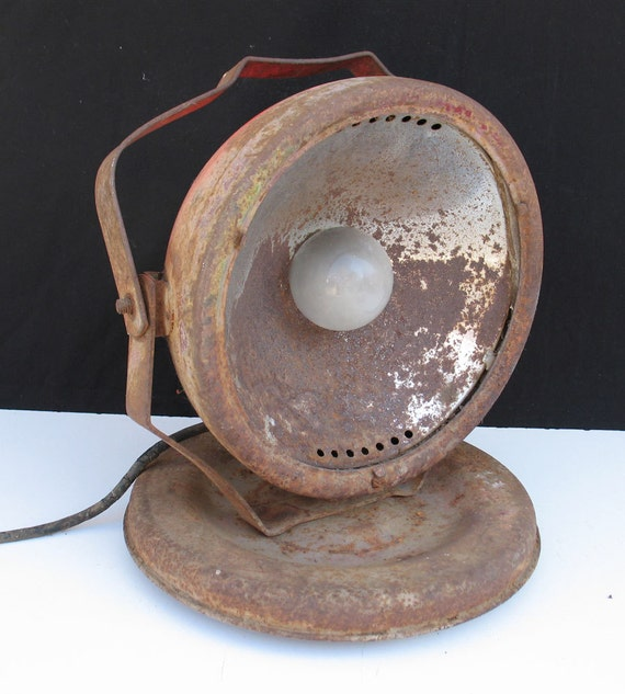 Vintage Industrial Shop Light: Vintage Dietz Industrial Shop Light On Rollers
