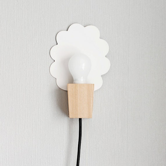 Etsy Wall Lamps : Items similar to wall lamp/ cloud / black on Etsy