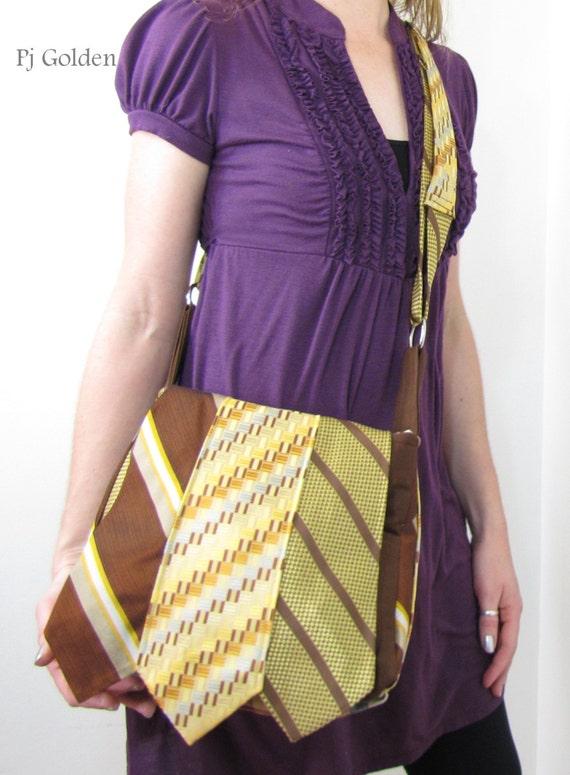 Memory Necktie Messenger- Design your own necktie bag
