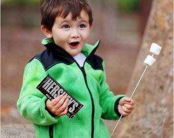 Happy Camper Jacket: Fleece Jacket Pattern, Kids Jacket Pattern