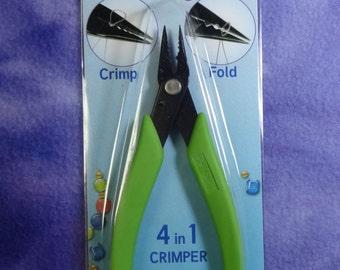 Xuron 4 in 1 Crimper with bonus chain nose plier