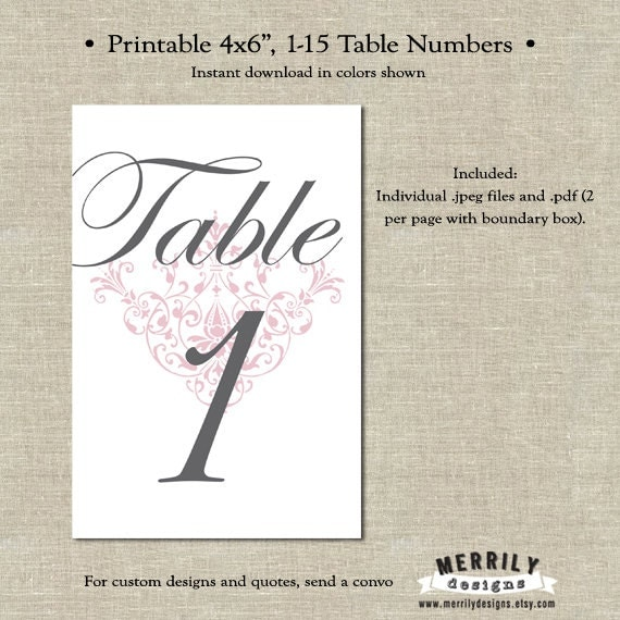 4x6 Printable Grey And Pink Scroll Table Numbers By. Counseling Progress Note Template. Dental Hygiene Graduation Caps. Indian Wedding Invitation Template. Dr Seuss Posters. Public Relations Resume Template. Free Dining Room Supervisor Cover Letter. Graduate Schools In Connecticut. Christmas Images For Invitations