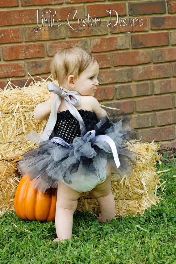 Tiny Mouse Tulle Tutu Dress Costume with Mouse Ears Headband for Parties, Halloween Dress-up