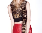 Raccoon Tail Scarf / Multiple Tail Scarf