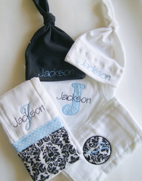Personalised Baby Gift Sets : Items similar to personalized baby gift set on etsy