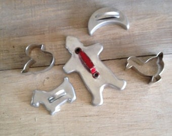 Vintage Cookie Cutter Cookie Cutters