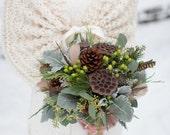 Bridal Cape/Wedding Shawl/Winter Wedding/Bridal Shrug/Bridal Bolero/Bridal Shawl/Ivory Shawl/Rustic Wedding/Fall Wedding/Wedding Cover Up
