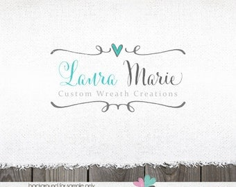Logo Designs Premade Logos Photography Logo Heart Logo Photography Logos and watermarks Logos with hearts baking logo Sewing Logo Blog logos
