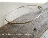 "ARTisan Made ""Freeform Bangle"" Sterling Silver"