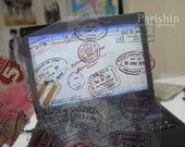 Stamp Chop Sticker Set (Transparent Stickers - 10 sheets)