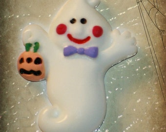 ADORABLE LITTLE GHOST Halloween Magnets, Set of 3- Neodymium super strong Magnets
