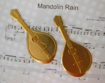 Mandolin Musical Instrument (2 pc)