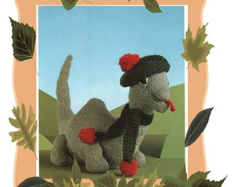 Dinosaur Scarf Knitting Pattern : Dinosaur knitting Etsy