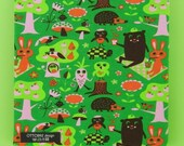 SALE: FUNNY PICNIC cotton elastane single jersey, 1 m