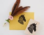 Horse Return Address Stamp