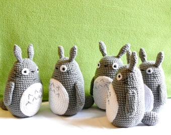 Totoro amigurumi, My Neighbor Totoro, crochet doll, toys,