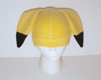 Pokemon Fleece Pikachu Hat