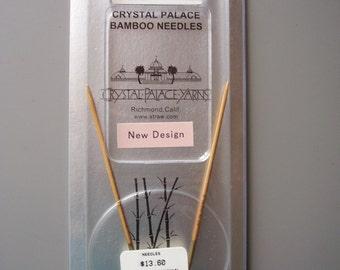 """Crystal Palace 16"""" Circular Bamboo Knitting Needle US 0   2 mm NEW"""