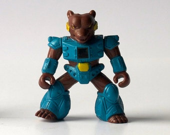Battle Beast, Grizzly Bear Figure, Hasbro 1986, Action Figure, Super Hero Toys