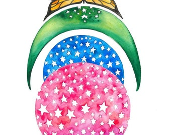 Star Power Art Print: 8x10