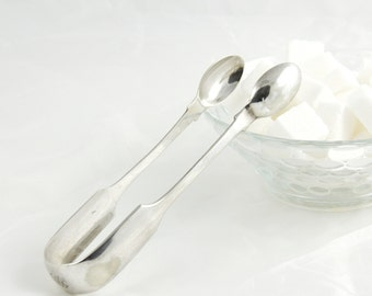 Sugar Tongs Silver Plated EPNS