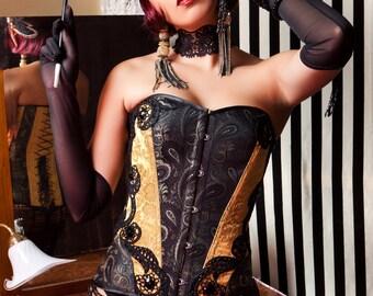 Corset Burlesque CHARLOTTE