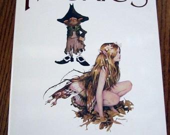 Froud Faeries 1ST EDITION Illustrated Vintage Lee Ballantine Fairies SciFi Hardcover Abrams Art Books