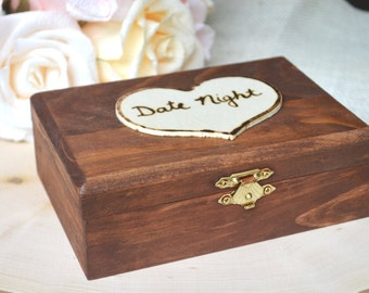 Date Night Box, Gift Card Box, Date Box, Date Night Ideas