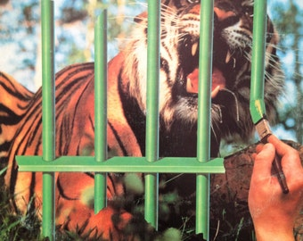 """TYGERS of PAN TANG """"The Cage"""" 1983 Vinyl Record"""
