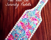 "Lilly Pulitzer ""Peel and Eat"" Paddle"