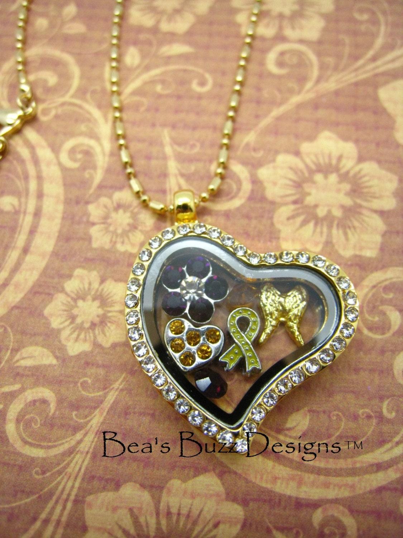 bealocket floating charm memory by beasbuzzdesigns on etsy