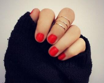 sterling silver knuckle rings, midi rings, hammered knuckle rings, stacking rings, ring set, 3 stacking rings