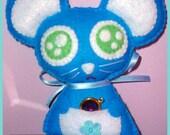 "Style Kawaii ""Ratoncito Pérez"" (little mouse handmade doll)"