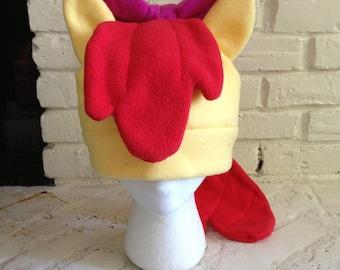 Apple Bloom Fleece Hat